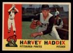 1960 Topps #340  Harvey Haddix  Front Thumbnail