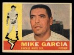 1960 Topps #532   Mike Garcia Front Thumbnail