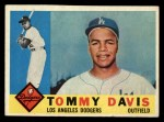 1960 Topps #509   Tommy Davis Front Thumbnail