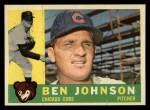 1960 Topps #528  Ben Johnson  Front Thumbnail