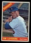 1966 Topps #57   Jim LeFebvre Front Thumbnail