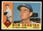 1960 Topps #234  Don Demeter  Front Thumbnail