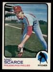 1973 Topps #6   Mac Scarce Front Thumbnail