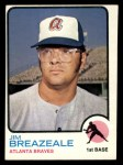 1973 Topps #33   Jim Breazeale Front Thumbnail