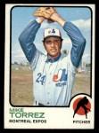 1973 Topps #77   Mike Torrez Front Thumbnail