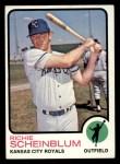 1973 Topps #78  Richie Scheinblum  Front Thumbnail