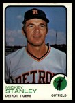 1973 Topps #88   Mickey Stanley Front Thumbnail