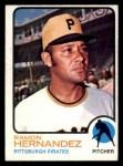 1973 Topps #117   Ramon Hernandez Front Thumbnail