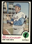 1973 Topps #137   Jim Beauchamp Front Thumbnail