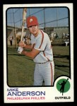 1973 Topps #147   Mike Anderson Front Thumbnail