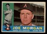 1960 Topps #229  Joe Morgan  Front Thumbnail