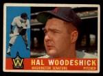 1960 Topps #454  Hal Woodeshick  Front Thumbnail