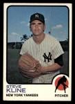 1973 Topps #172   Steve Kline Front Thumbnail
