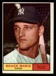 1961 Topps #2   Roger Maris Front Thumbnail
