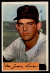 1954 Bowman #101   Don Larsen Front Thumbnail