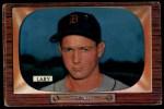 1955 Bowman #154   Frank Lary Front Thumbnail