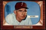 1955 Bowman #294   Wally Moses Front Thumbnail
