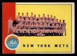 1963 Topps #473  Mets Team  Front Thumbnail