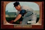 1955 Bowman #249   Billy Gardner Front Thumbnail