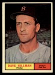 1961 Topps #326  Dave Hillman  Front Thumbnail
