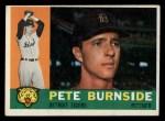1960 Topps #261   Pete Burnside Front Thumbnail