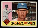 1960 Topps #5   Wally Moon Front Thumbnail