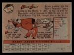 1958 Topps #183  Dave Jolly  Back Thumbnail