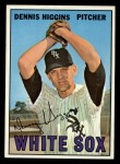 1967 Topps #52  Dennis Higgins  Front Thumbnail