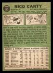1967 Topps #35   Rico Carty Back Thumbnail