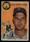 1954 Topps #163   Frank House Front Thumbnail