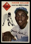 1954 Topps #35  Jim Gilliam  Front Thumbnail