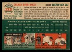 1954 Topps #133   Del Baker Back Thumbnail