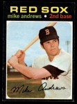 1971 Topps #191  Mike Andrews  Front Thumbnail