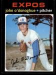 1971 Topps #743  John O'Donoghue  Front Thumbnail