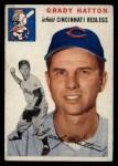 1954 Topps #208   Grady Hatton Front Thumbnail
