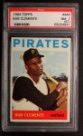 1964 Topps #440   Roberto Clemente Front Thumbnail