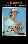 1971 Topps #42 COR  Boots Day Front Thumbnail