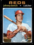 1971 Topps #250   Johnny Bench Front Thumbnail