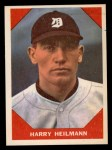 1960 Fleer #65  Harry Heilman  Front Thumbnail