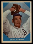1960 Fleer #7   Chief Bender Front Thumbnail