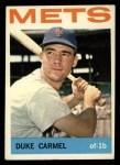 1964 Topps #44  Duke Carmel  Front Thumbnail