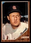 1962 Topps #323  Don Landrum  Front Thumbnail
