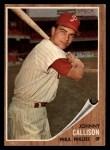 1962 Topps #17   Johnny Callison Front Thumbnail