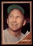 1962 Topps #195 A  Joe Cunningham Front Thumbnail