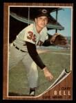 1962 Topps #273   Gary Bell Front Thumbnail