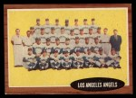 1962 Topps #132 NOR Angels Team  Front Thumbnail