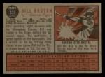 1962 Topps #335  Billy Bruton  Back Thumbnail