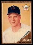 1962 Topps #321  Lee Stange  Front Thumbnail