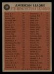 1962 Topps #57  AL Win Leaders  -  Whitey Ford / Frank Lary / Steve Barber / Jim Bunning Back Thumbnail