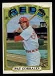 1972 Topps #705   Pat Corrales Front Thumbnail
